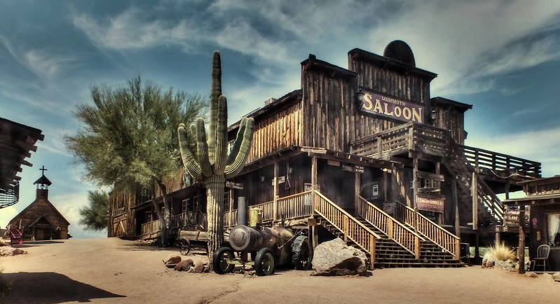Saloon first hotel